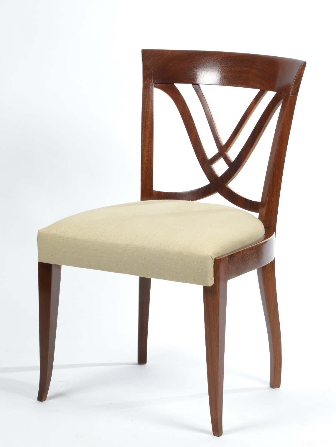 Well-liked Robert Morrissey Antiques: Set of Six Art Deco Dining Chairs DQ81