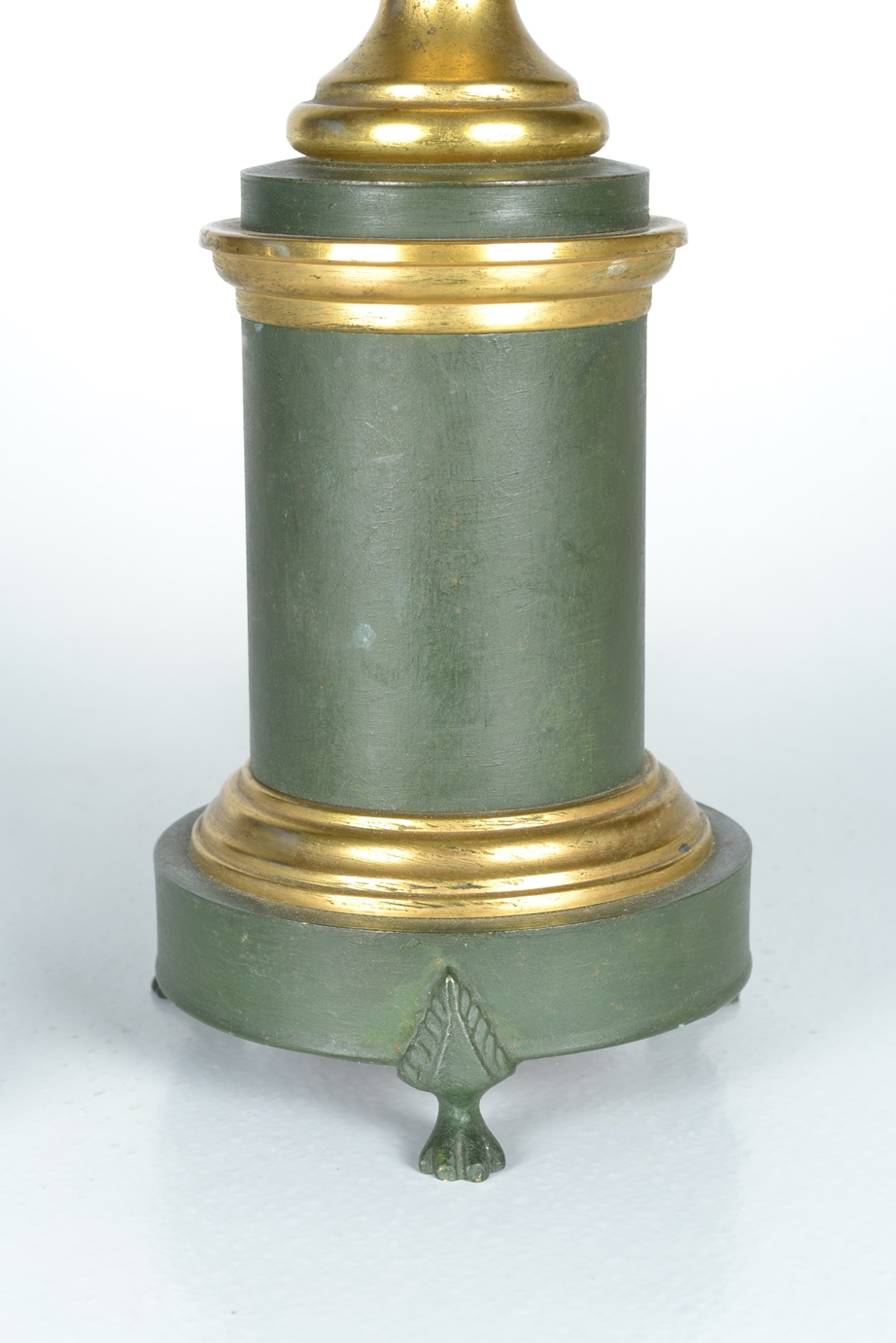 View 4: Green Tole Lamp, 19th c.