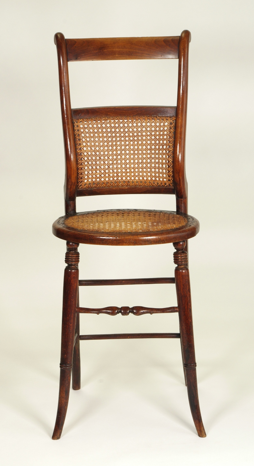View 3: Regency Child's Correction Chair, c. 1830