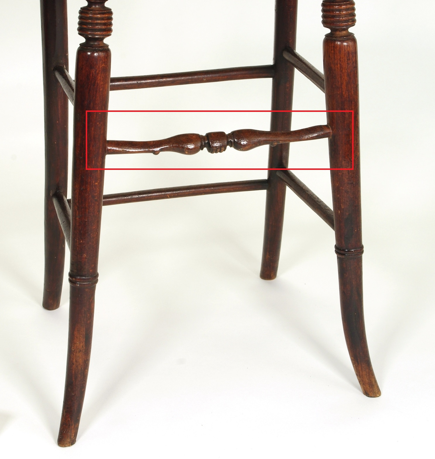 View 8: Regency Child's Correction Chair, c. 1830