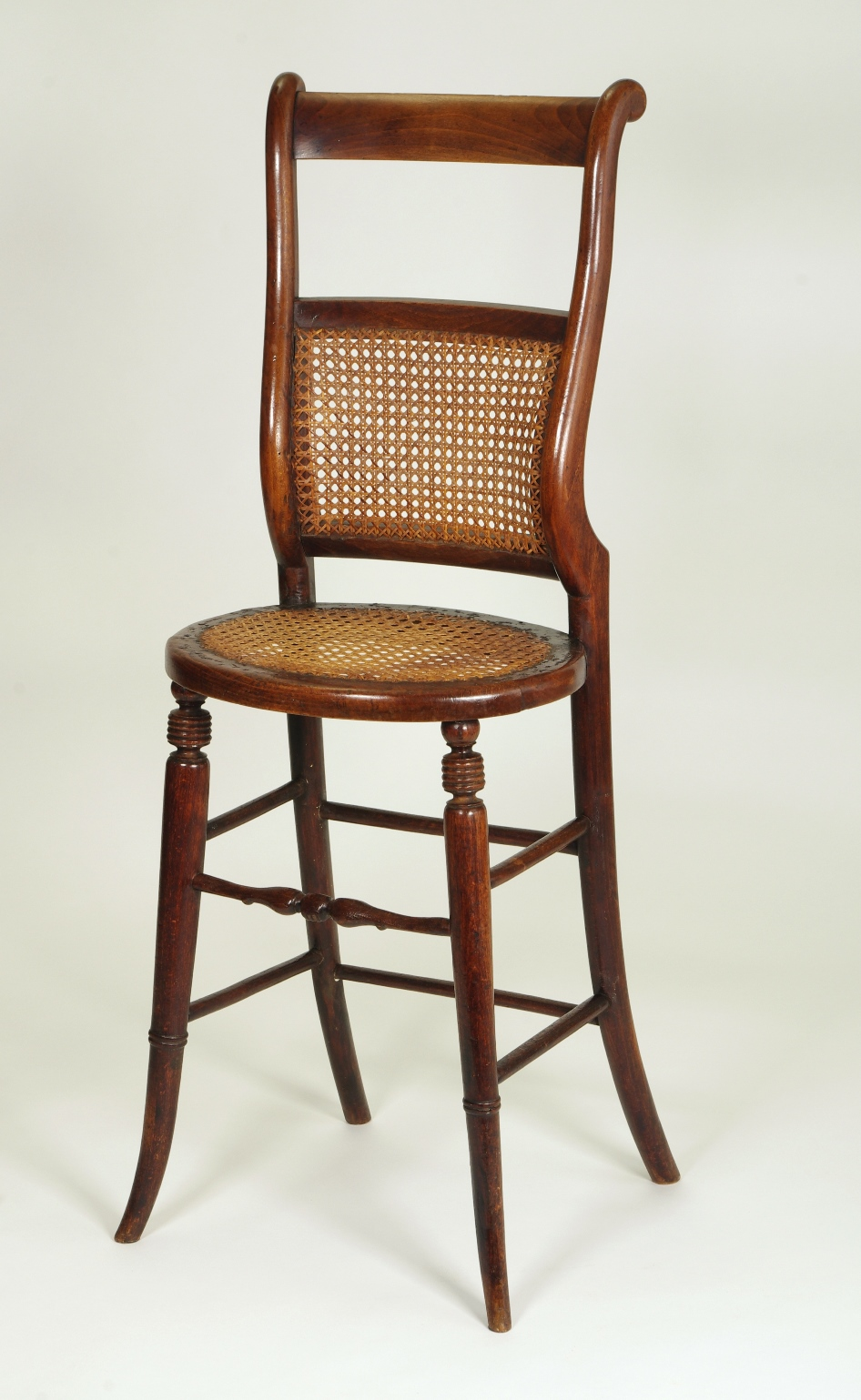 View 9: Regency Child's Correction Chair, c. 1830