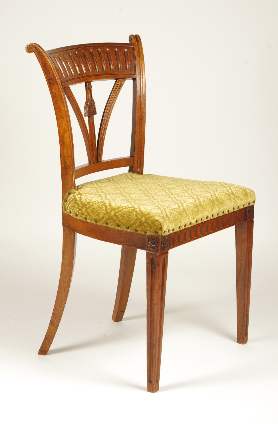 View 5: Set of Four Italian Side Chairs