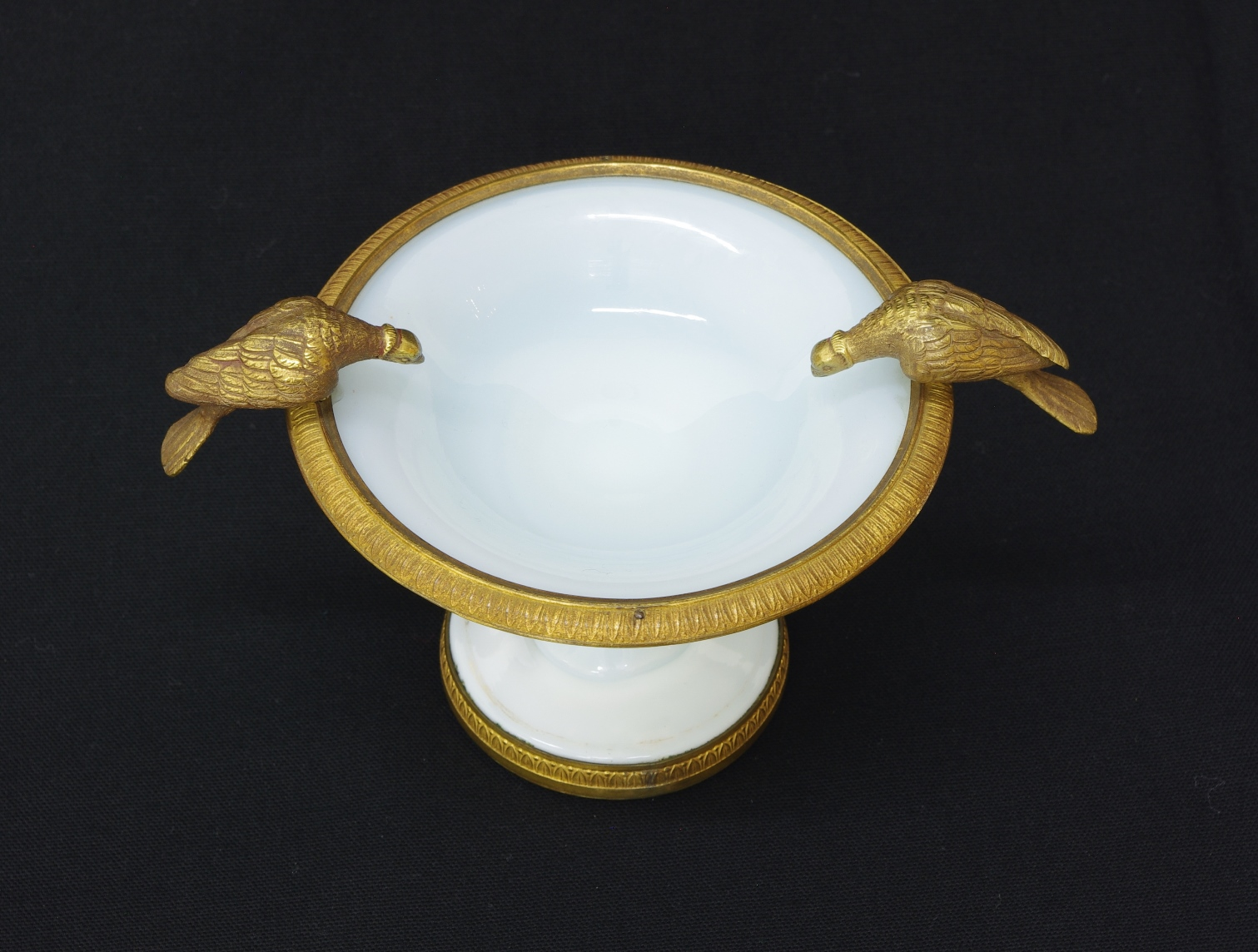 View 3: Charles X White Opaline Coupe, c. 1825