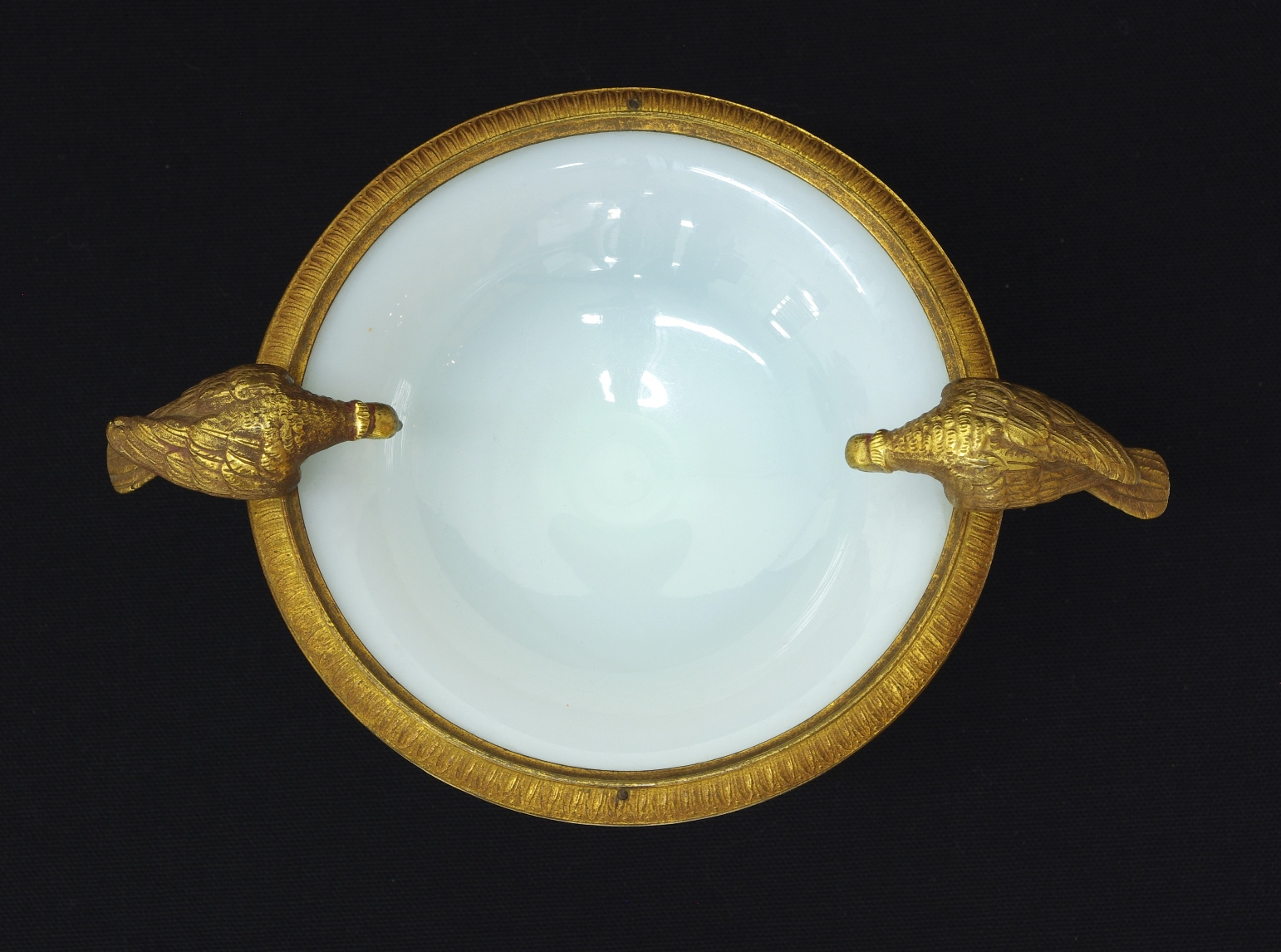 View 5: Charles X White Opaline Coupe, c. 1825