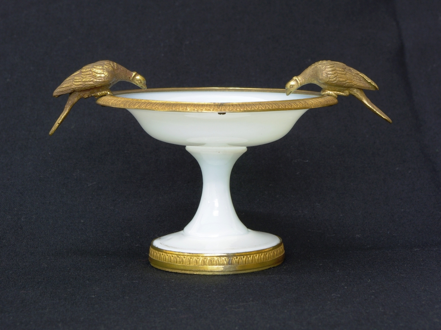 View 6: Charles X White Opaline Coupe, c. 1825