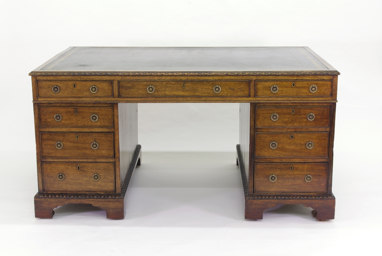View 2: Victorian Mahogany Partners Desk, c. 1840-60