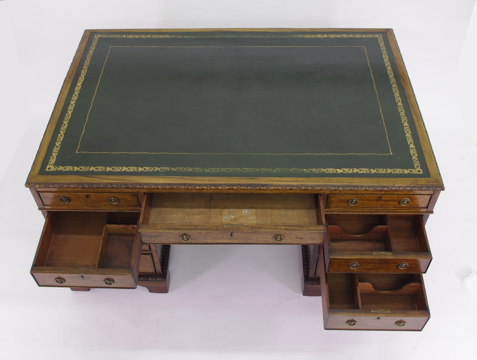 View 4: Victorian Mahogany Partners Desk, c. 1840-60
