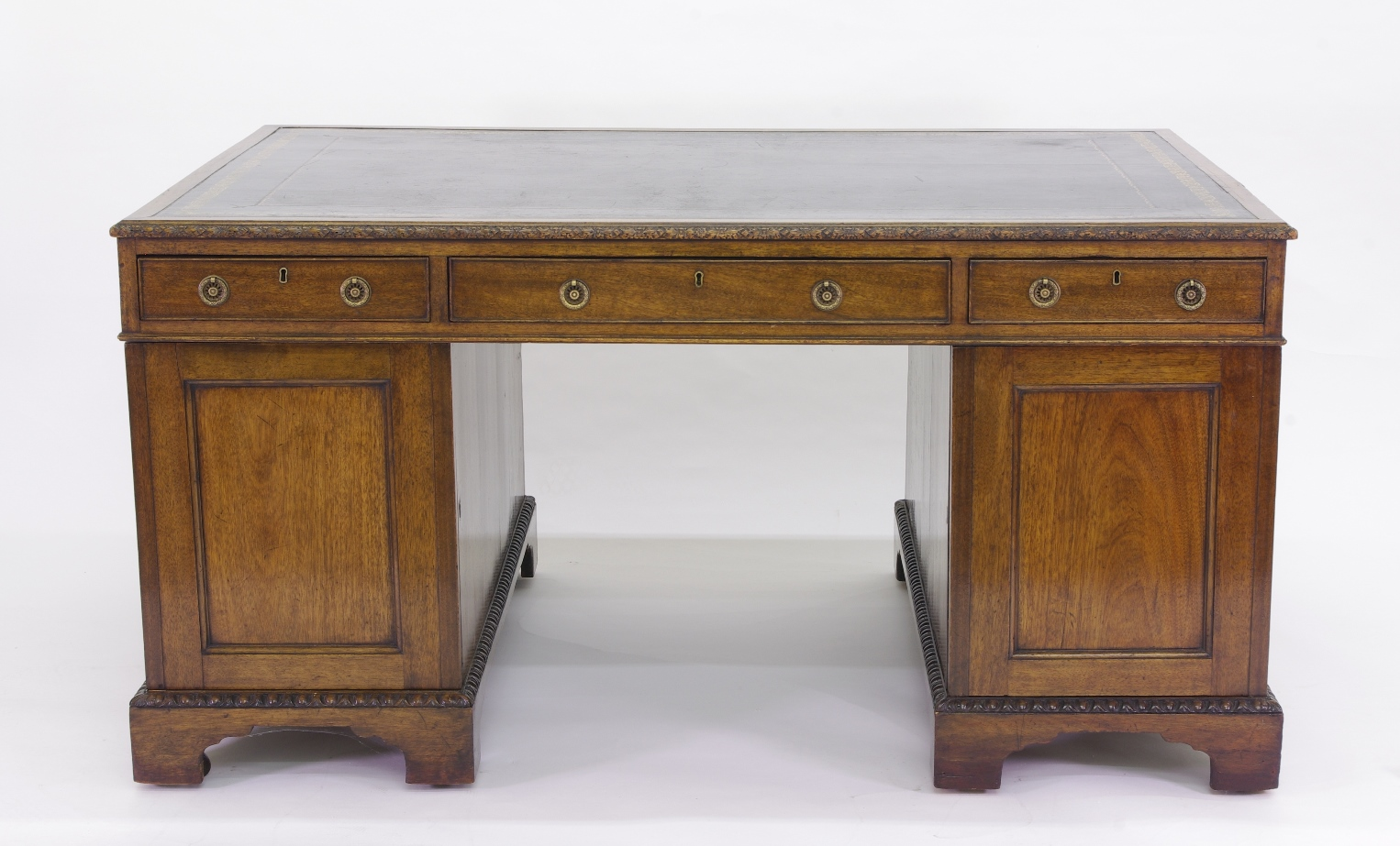 View 5: Victorian Mahogany Partners Desk, c. 1840-60