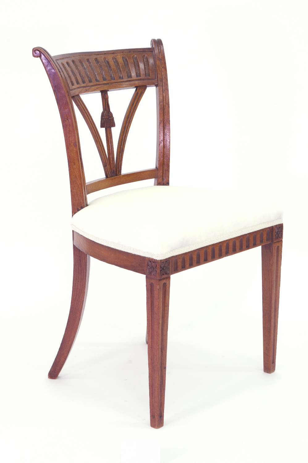 View 5: Set of Four Italian Side Chairs, c. 1800