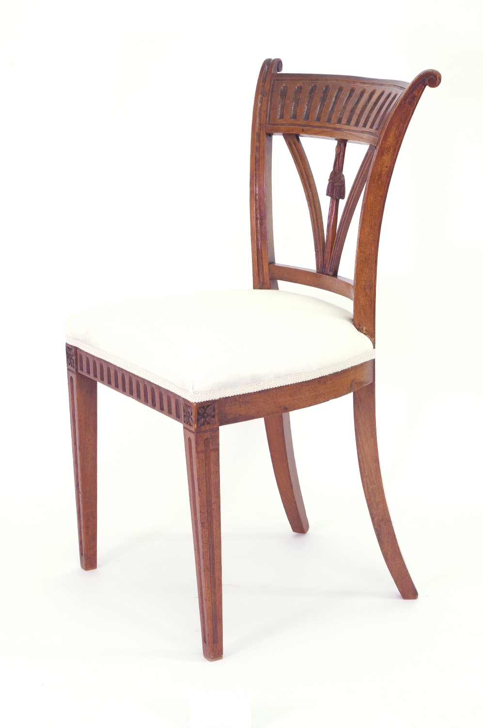 View 6: Set of Four Italian Side Chairs, c. 1800