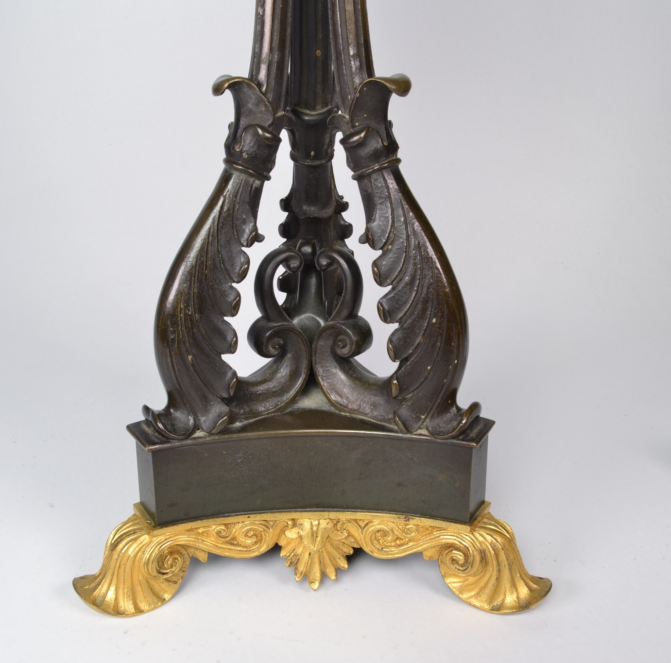View 8: Pair of Louis-Philippe Bronze and Ormolu Candelabra, c. 1840