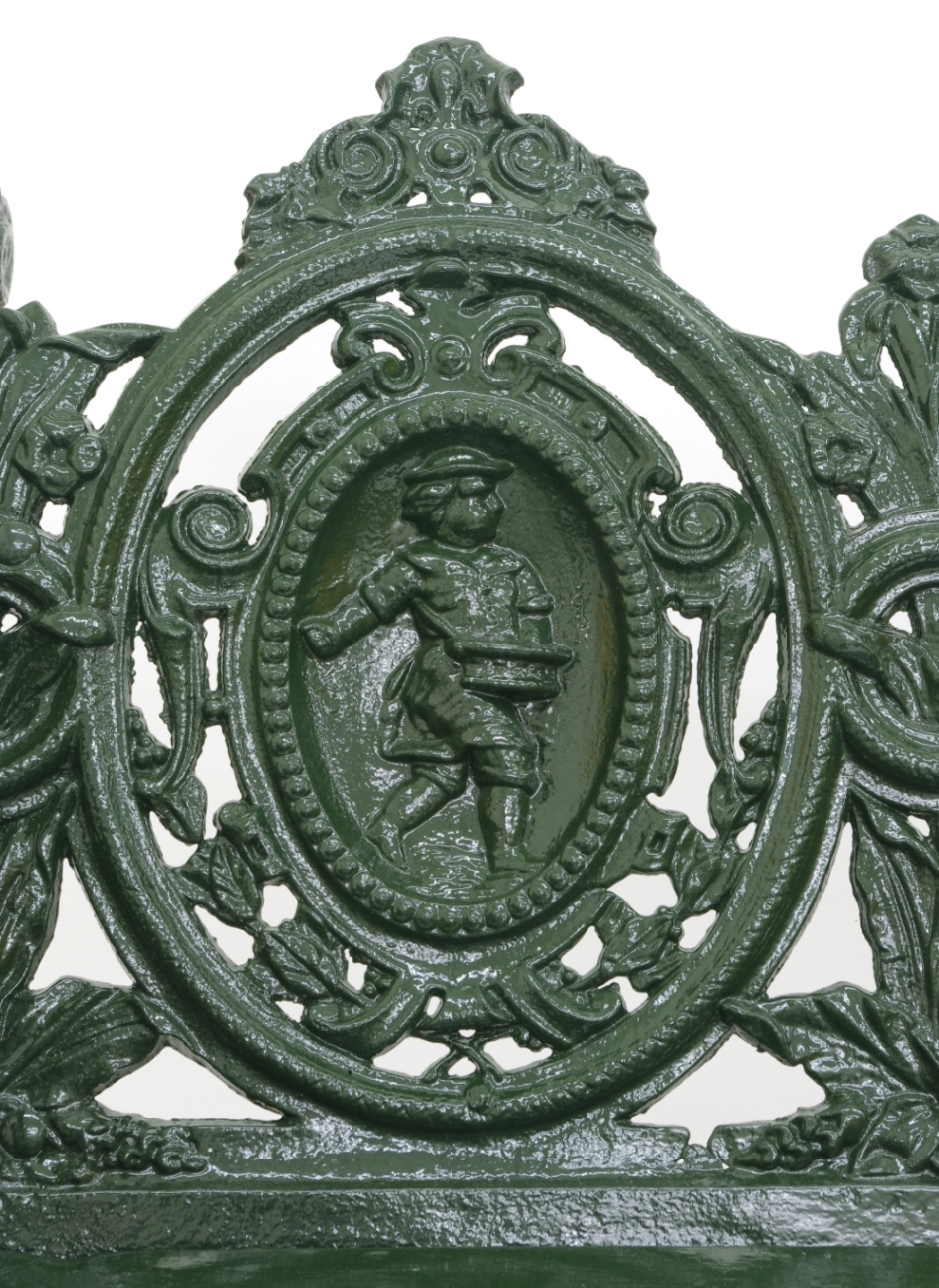 View 4: Cast Iron Garden Bench, 1880