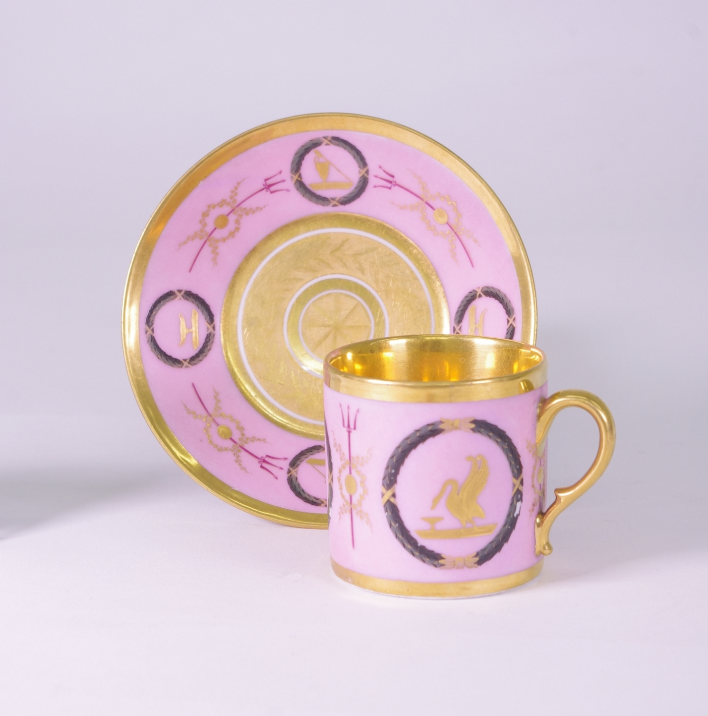 View 7: Old Paris Coffee Can and Saucer, c. 1810
