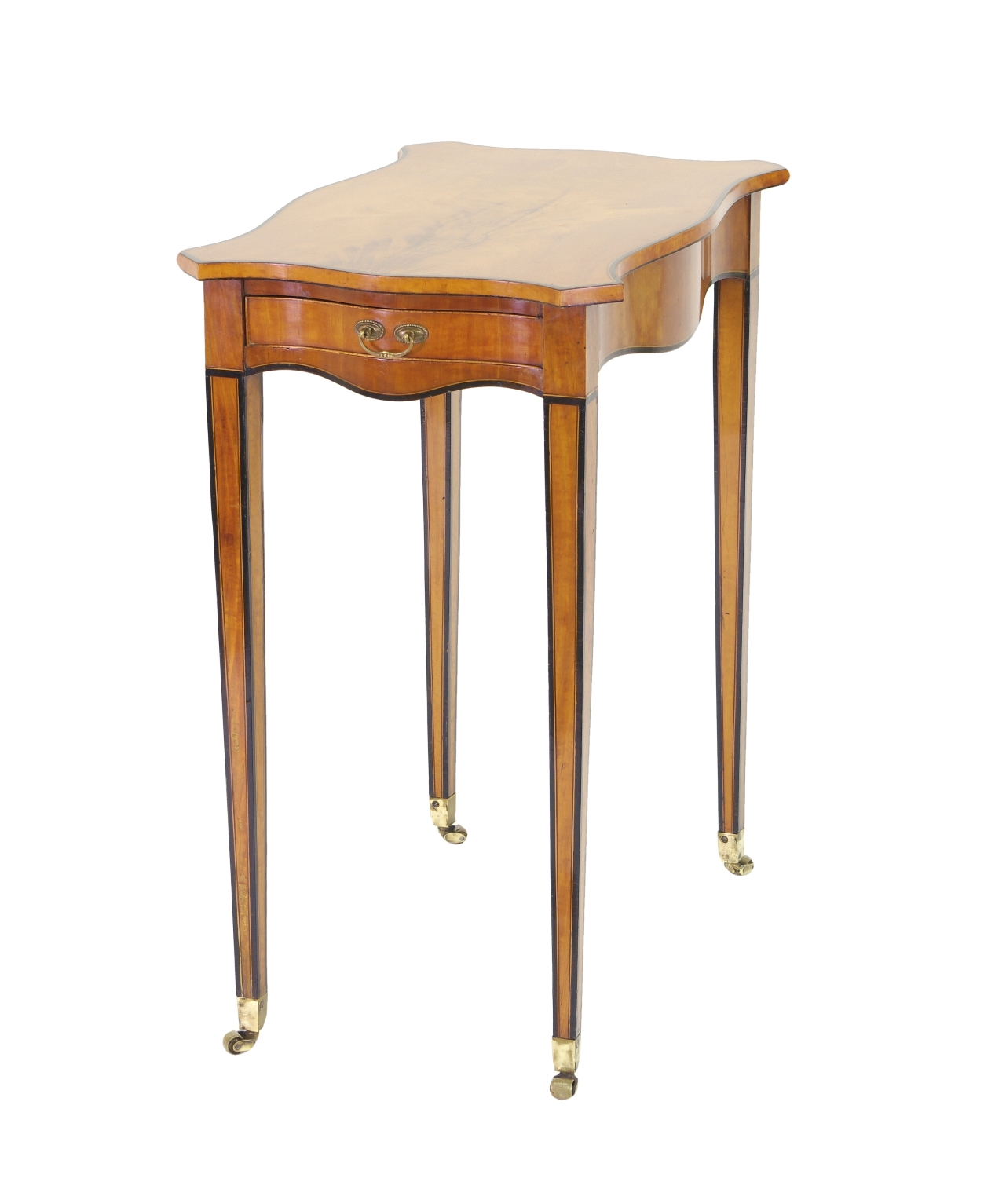 George III Satinwood Side Table, c. 1790