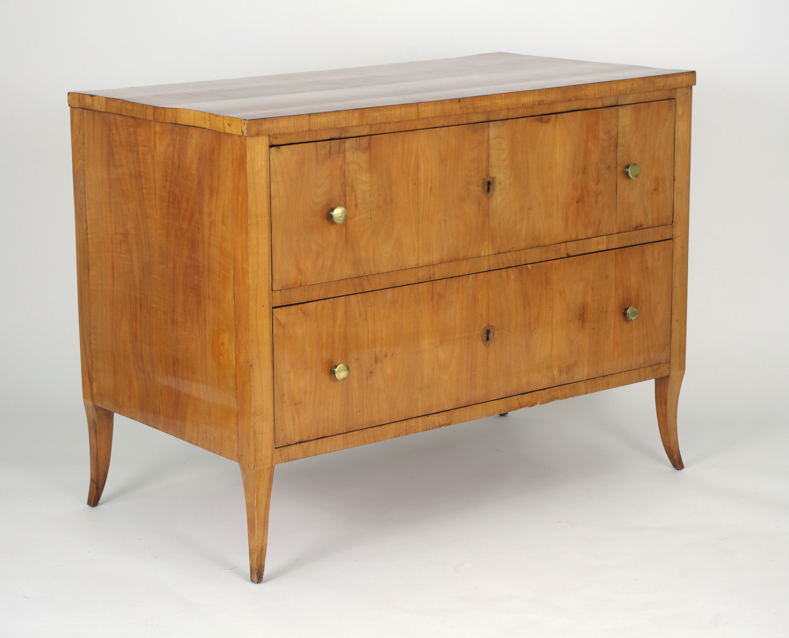 View 2: Biedermeier Cherry Chest of Drawers, c. 1810