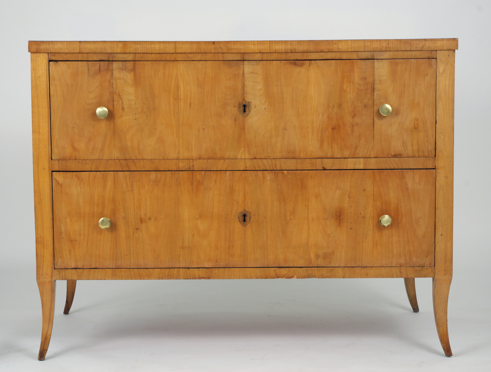 View 4: Biedermeier Cherry Chest of Drawers, c. 1810
