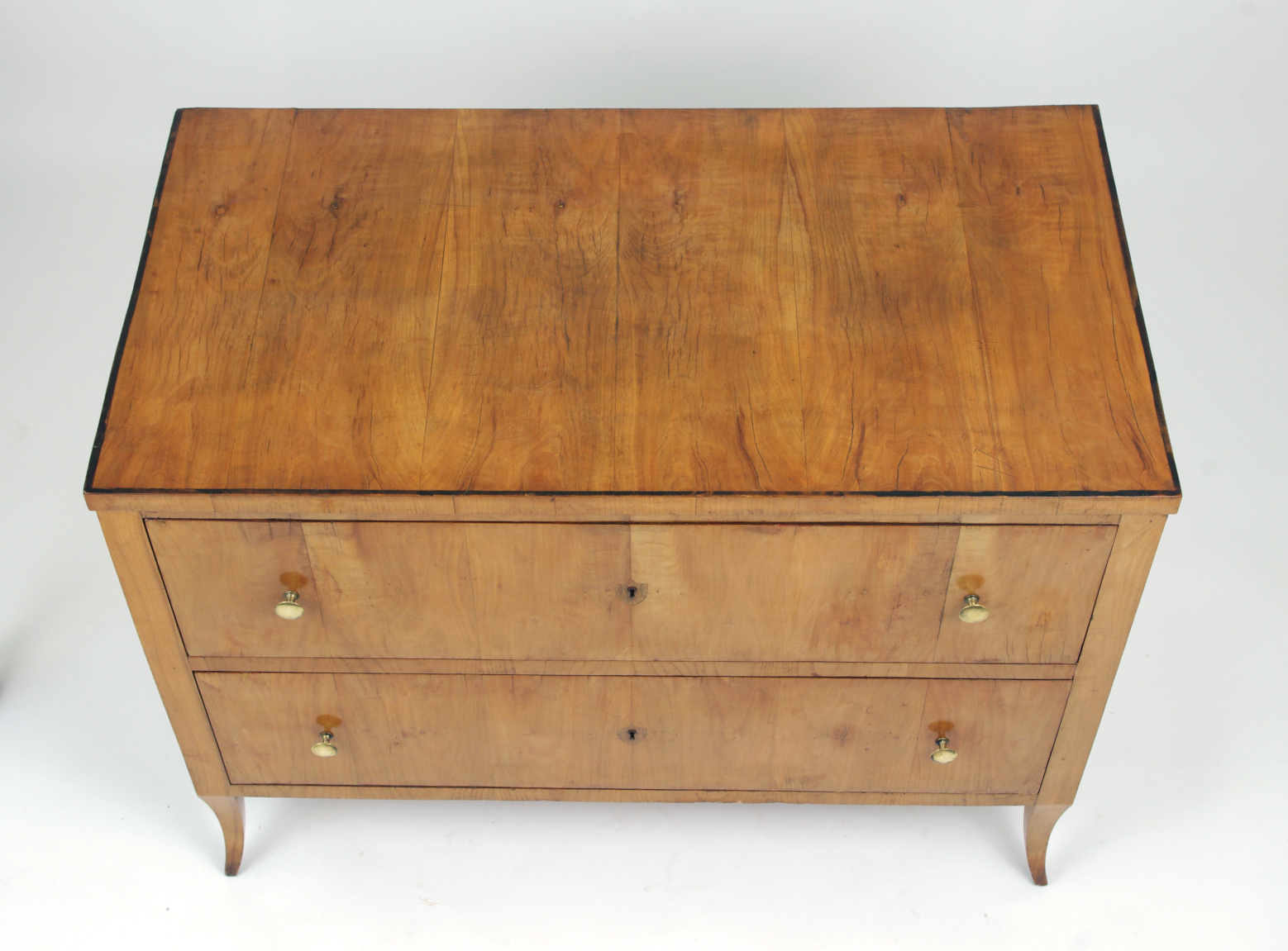 View 6: Biedermeier Cherry Chest of Drawers, c. 1810