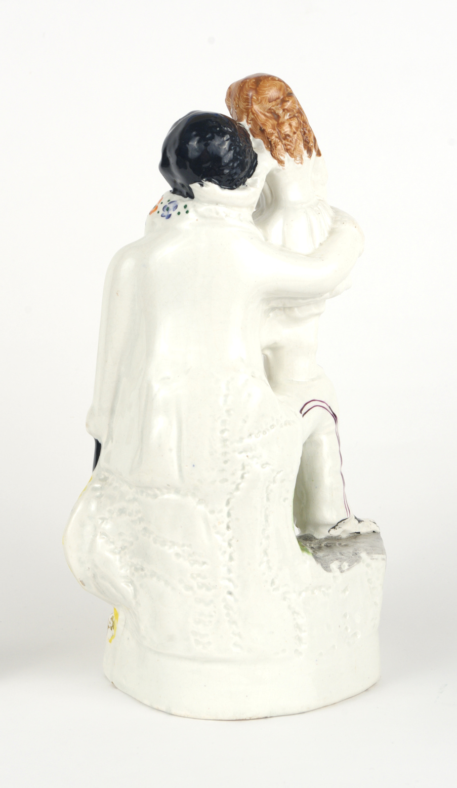 "View 4: Staffordshire Figure, ""Uncle Tom and Eva"", c. 1852"
