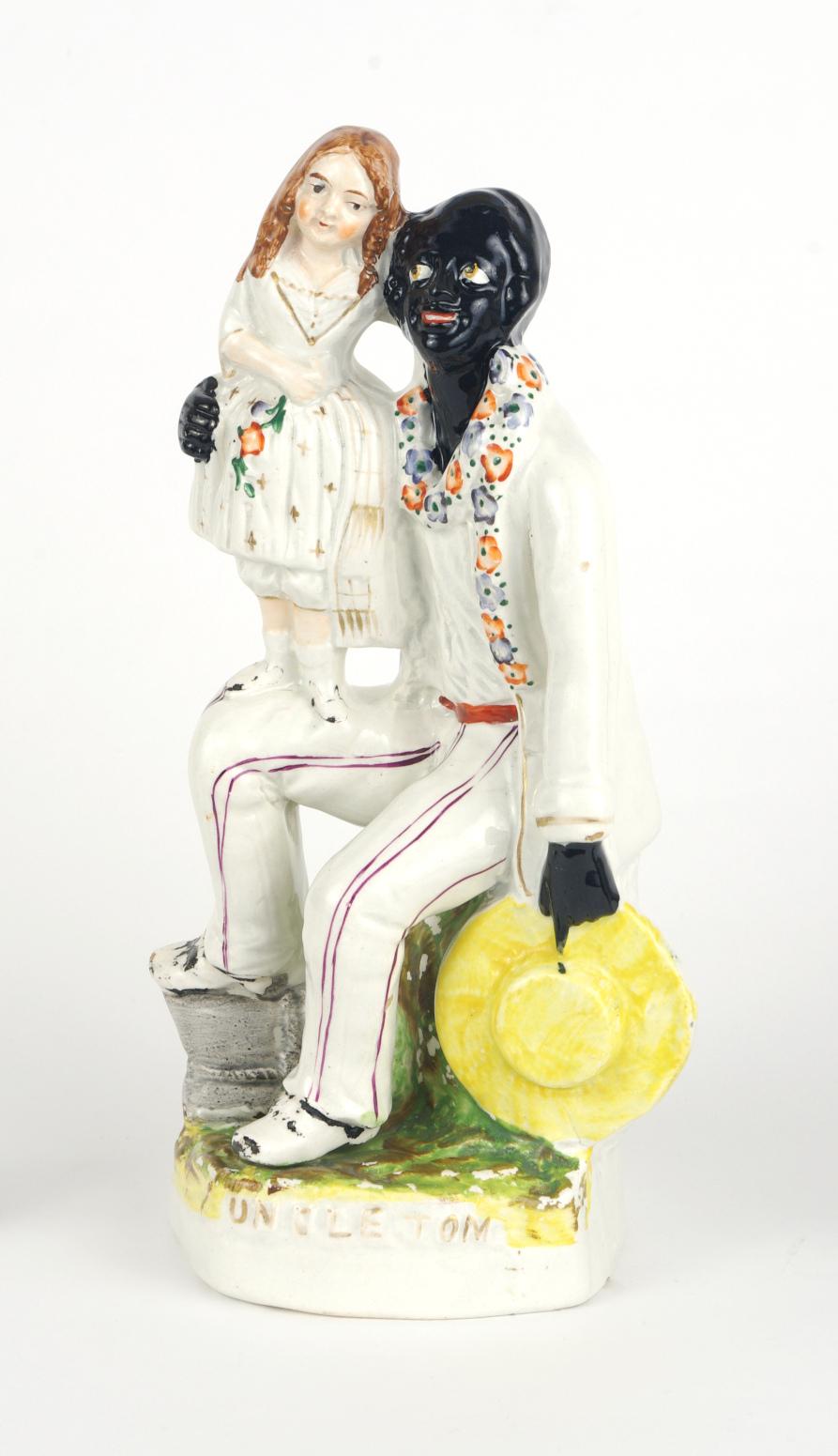 "View 7: Staffordshire Figure, ""Uncle Tom and Eva"", c. 1852"