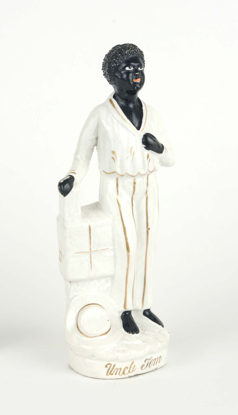 "View 5: Staffordshire figure, ""Uncle Tom"", c. 1852"