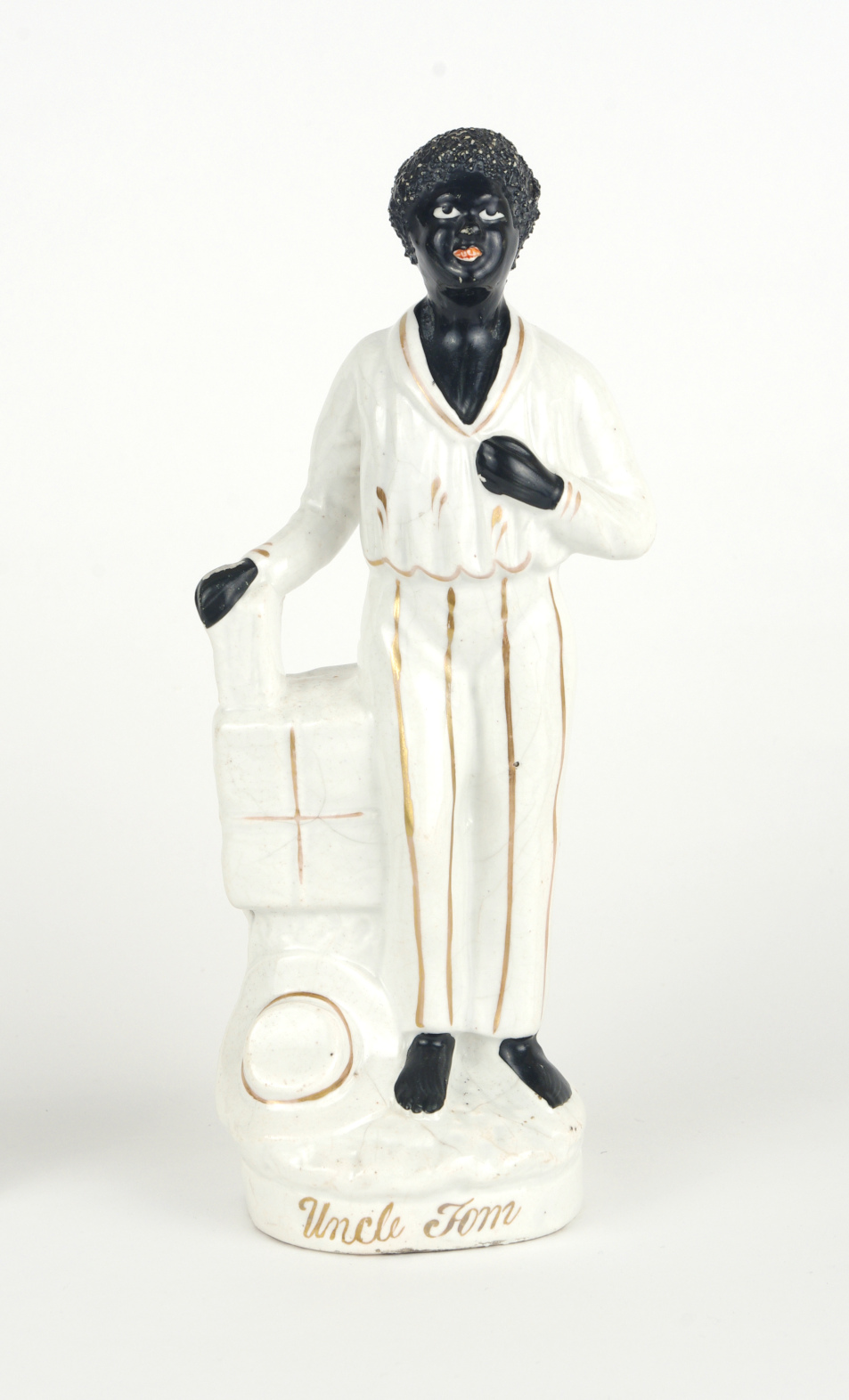 "View 7: Staffordshire figure, ""Uncle Tom"", c. 1852"