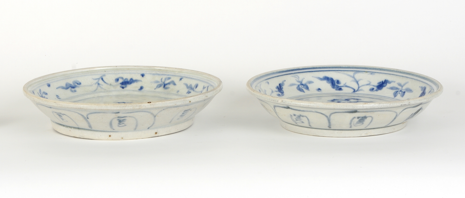 View 2: Two Blue and White Serving Dishes from the Hoi An Hoard, c. 1500