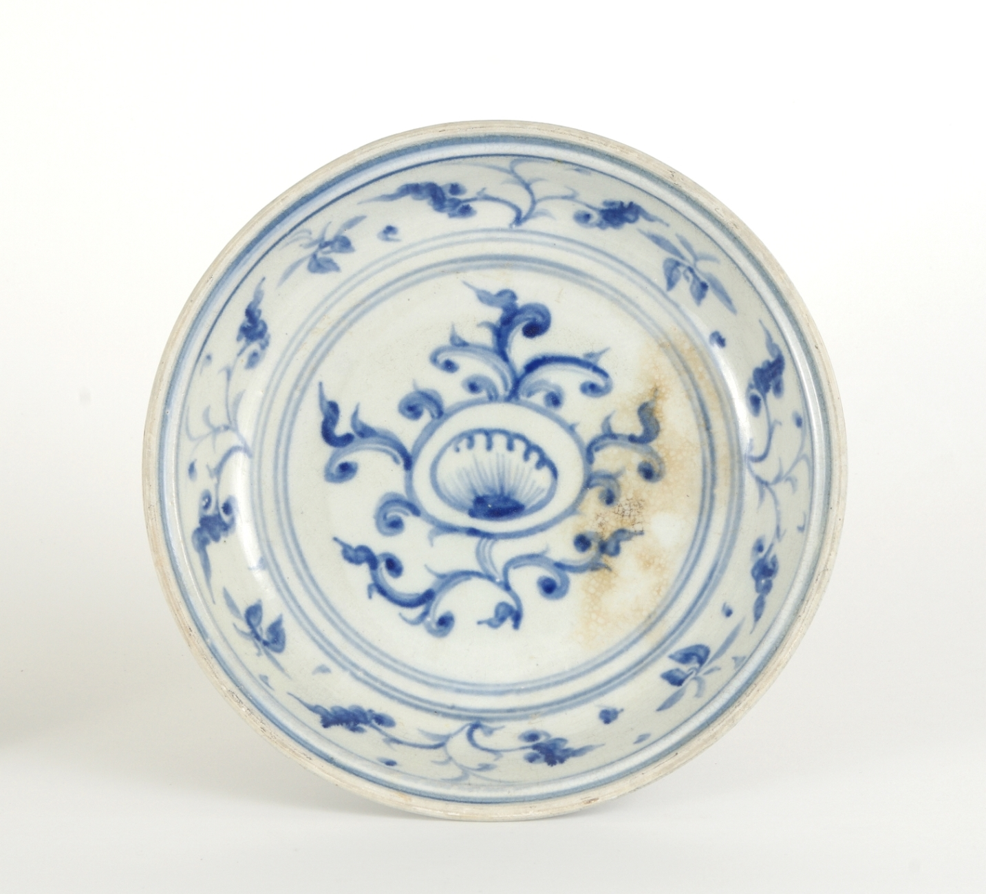 View 5: Two Blue and White Serving Dishes from the Hoi An Hoard, c. 1500