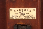 "View 8: Victorian Reading Table, ""Carter's Literary Machine"", c. 1885"