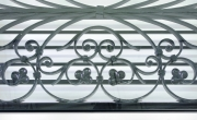 View 6: French Wrought Iron Window Guard Mounted as a Coffee Table, Mid 19th c.