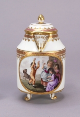 View 10: Vienna Porcelain Covered Milk Jug, c. 1794
