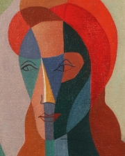 "View 2: Julio Payro (1899-1971) ""Portrait of a Woman"", 1950"