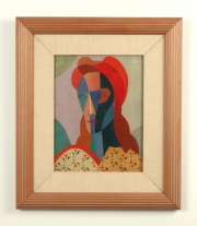 "View 4: Julio Payro (1899-1971) ""Portrait of a Woman"", 1950"