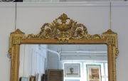View 5: Pair of Louis XVI Style Giltwood Pier Mirrors, c. 1840