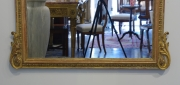 View 7: Pair of Louis XVI Style Giltwood Pier Mirrors, c. 1840