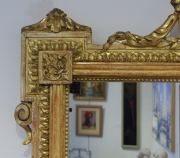 View 9: Pair of Louis XVI Style Giltwood Pier Mirrors, c. 1840