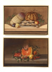 View 4: Juliette Felix (1869- ?) French, Pair of Still Lifes