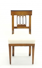 View 4: Set of Four Biedermeier Side Chairs, c. 1810-20