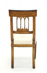 View 6: Set of Four Biedermeier Side Chairs, c. 1810-20