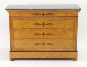 View 10: French Restauration Burr Ash Chest of Drawers, c. 1825