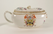 View 2: Chinese Export Armorial Bourdaloue, c. 1750