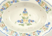 View 5: French Faience Barber Bowl, Quimper, c. 1930