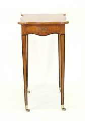 View 4: George III Satinwood Side Table, c. 1790