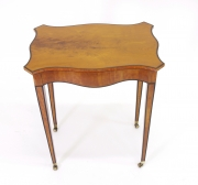 View 5: George III Satinwood Side Table, c. 1790
