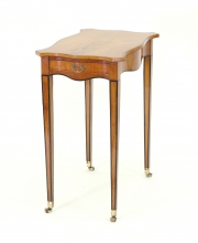 View 8: George III Satinwood Side Table, c. 1790