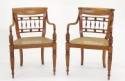 View 3: Set of Six British Colonial Dining Chairs, c. 1830