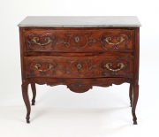 View 2: Louis XV Walnut Serpentine Chest c. 1770-80