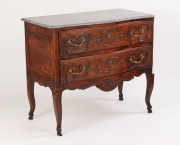View 3: Louis XV Walnut Serpentine Chest c. 1770-80