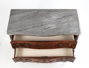 View 6: Louis XV Walnut Serpentine Chest c. 1770-80