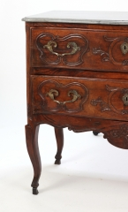 View 8: Louis XV Walnut Serpentine Chest c. 1770-80