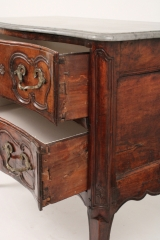 View 9: Louis XV Walnut Serpentine Chest c. 1770-80
